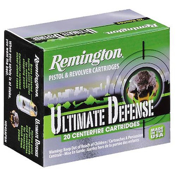 Remington Ultimate Defense Full Size Handgun 380 ACP