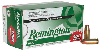 Remington UMC Value Pack 9mm Luger