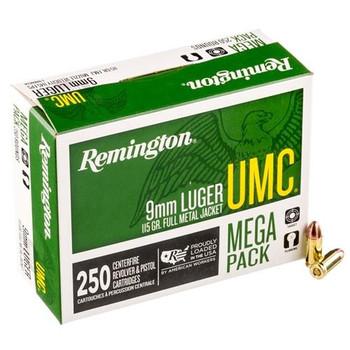 Remington UMC Mega Pack 9mm Luger
