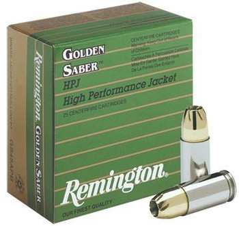 Remington Golden Saber 380 ACP