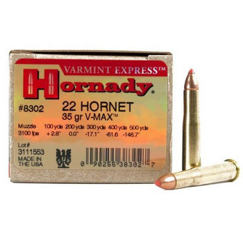 Hornady Varmint Express 22 Hornet