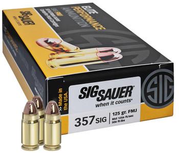 Sig Sauer Elite Performance Ammunition 357 Sig