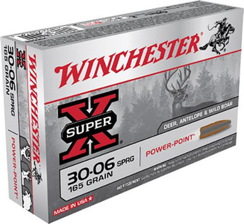 Winchester .30-06 Super-X Power Point 165 Grain