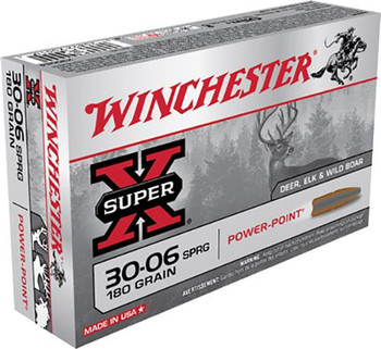 Winchester .30-06 Super-X Power Point 180 Grain
