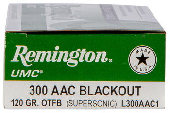 Remington UMC 300 Blackout 120 Grain