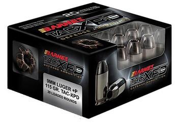 Barnes TAC-XPD 9mm Luger