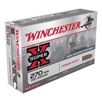 Winchester 270 Win Super-X 150 Grain