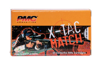 PMC X-TAC Match, .223 Rem, 5.56x45mm NATO, 77 Grain, OTM, 20 Rounds