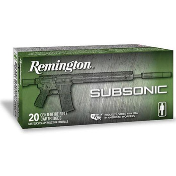 Remington 300 AAC Blackout Subsonic