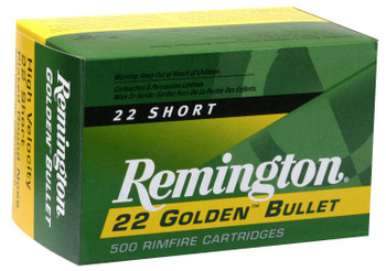 Remington 22 Short Golden Bullet