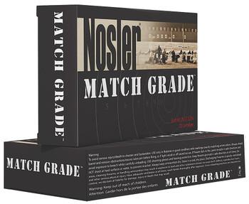 Nosler Match Grade Handgun Ammo