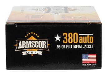 Armscor 380 ACP 95 Grain FMJ