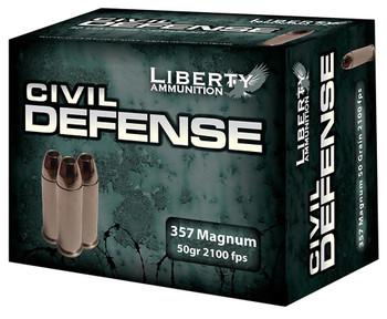 Liberty Ammunition Civil Defense 357 Mag