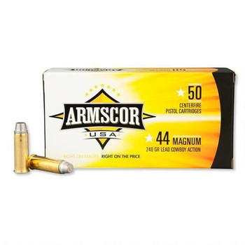 Armscor USA 44 Magnum LSWC