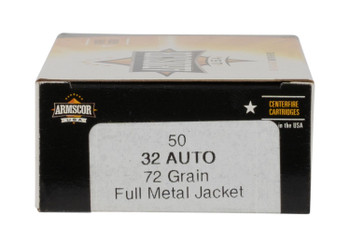 Armscor USA, .32 ACP, 72 Grain,  FMJ, 50 Rounds