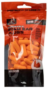 Walkers Foam Ear Plugs 25 Bag