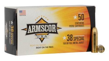 Armscor USA 38 Special 158