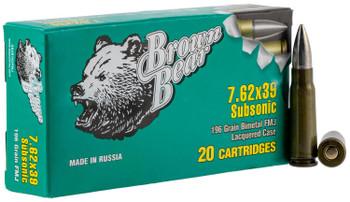 Brown Bear 7.62x39mm Subsonic