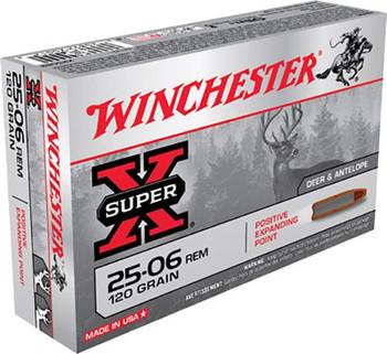 Winchester 25-06 Win Super-X 120 Grain