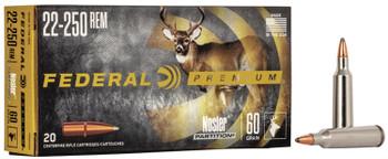 Federal Premium .22-250 Nosler Partition