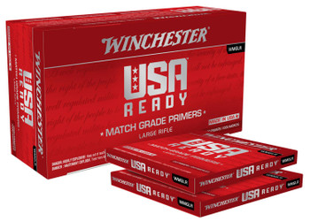 Winchester USA Ready Large Rifle Match Grade Primers