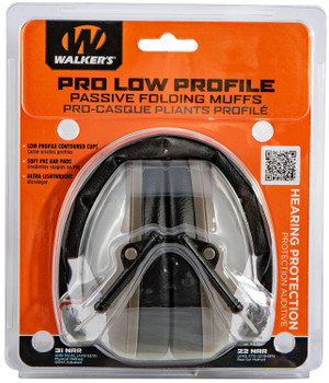 Walkers Pro Low Profile Folding Muffs FDE