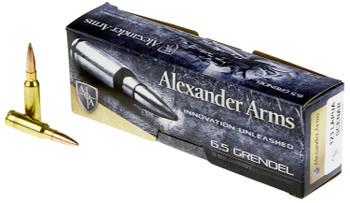 Alexander Arms 6.5 Grendel 123 gr Lapua Scenar