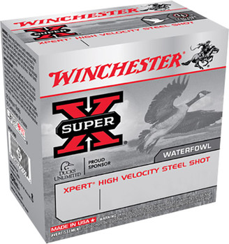 Winchester Super-X  Xpert High Velocity Steel Shot Waterfowl 12 Gauge