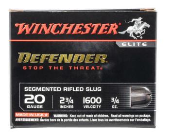 Winchester Defender Segmented Slug 20 Gauge