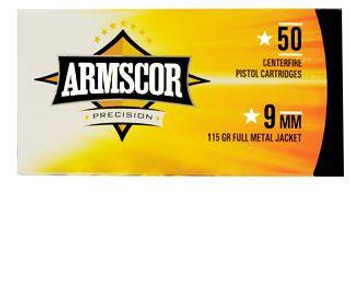 Armscor USA 9mm 115 Grain