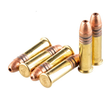 Federal .22 LR, 36 Grain, Copper Plated Hollow Point