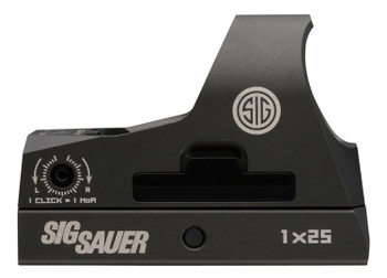 Sig Sauer Romeo3 1x 25mm, 3 MOA Red Dot, Black