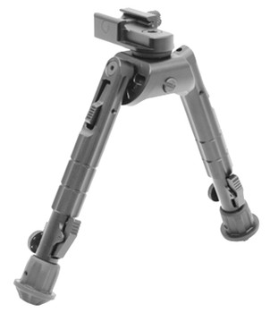 UTG Heavy Duty Recon Bipod Gray Metal 6.6-9.12""