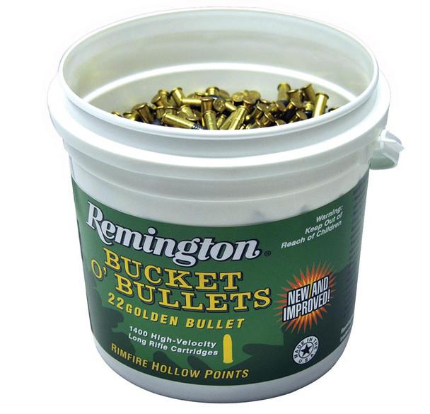 Remington Bucket O'Bullets 22 LR Golden Bullet