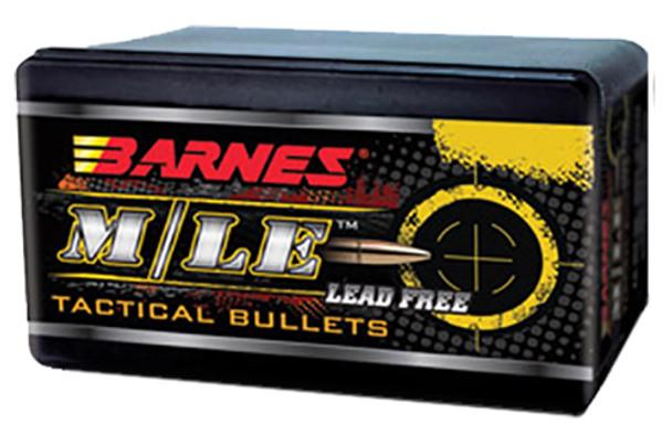 Barnes M/LE Tactical Lead-Free Bullets