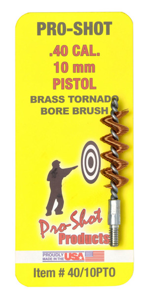 Pro-Shot Tornado Bronze Bore Brush