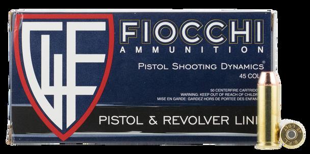 Fiocchi Pistol Shooting Dynamics 45 Long Colt
