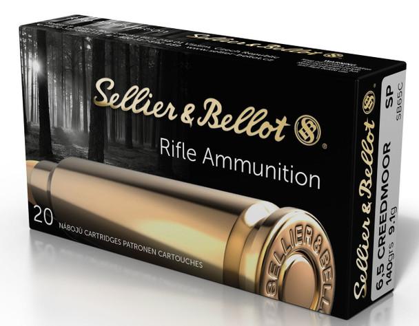 Sellier & Bellot 6.5 Creedmoor Rifle Ammunition