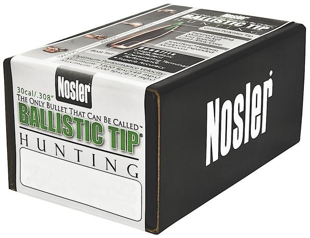 Nosler Ballistic Tip Hunting 30 Caliber