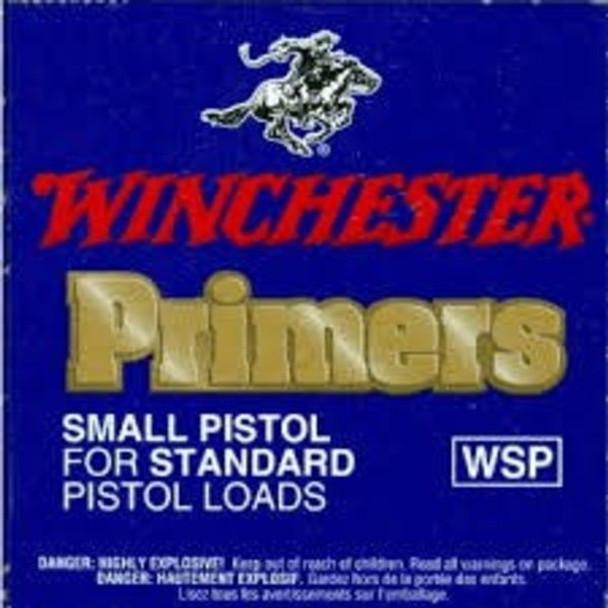 Winchester WSP Standard Small Pistol Primers