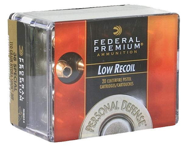 Federal Premium Hydra-Shok 38 Special