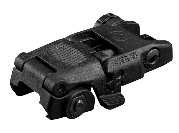 Magpul MBUS Rear Back-Up Sight Black Folded