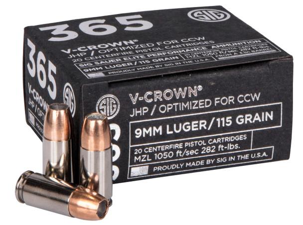 Sig 365 V-Crown 9mm