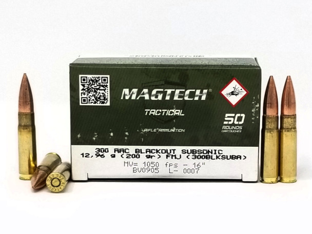 Magtech Tactical Subsonic 300 Blackout