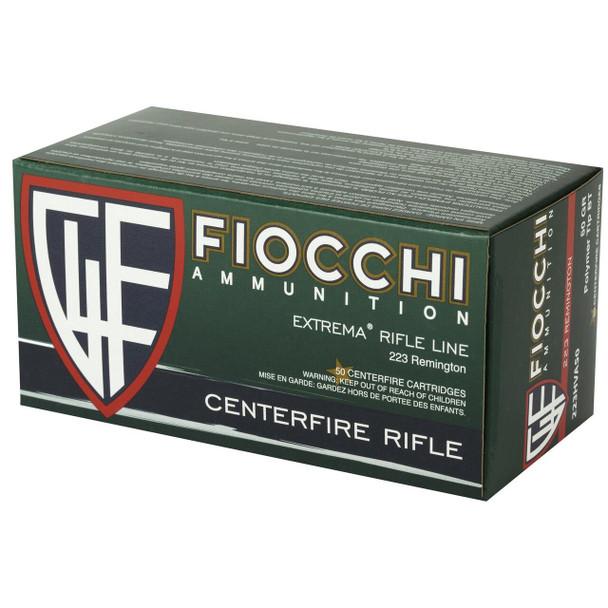 Fiocchi Extrema Rifle Line 223 Remington Polymer Tip BT