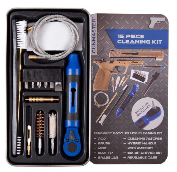 DAC Gunmaster .45 Caliber 15 Piece Pistol Cleaning Kit