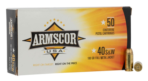 Armscor USA 180 Grain 40 S&W