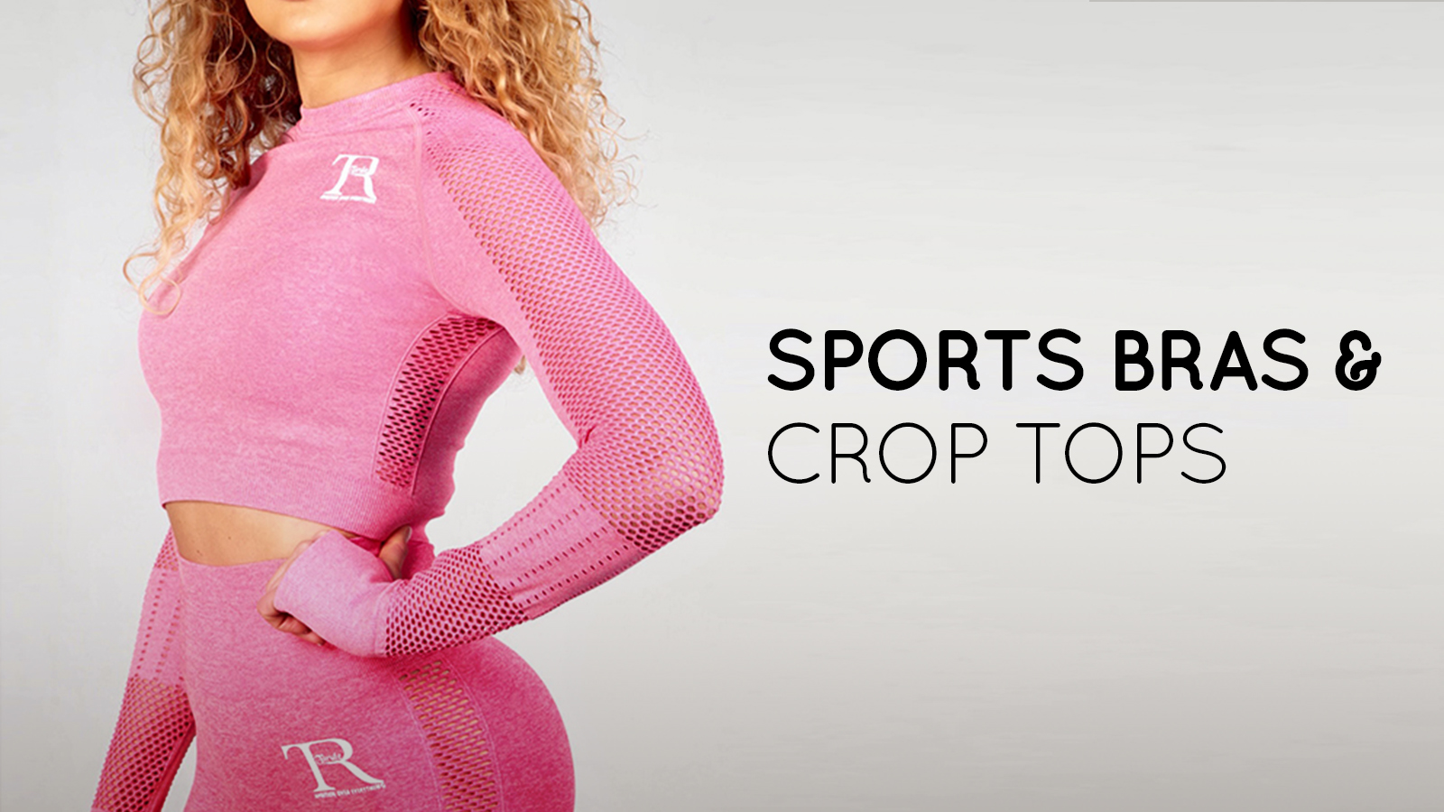 Comfortable high intensity moving sports bras and crop tops for running