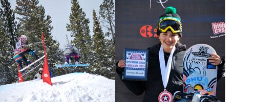 Isabella Gomez snowboard racer