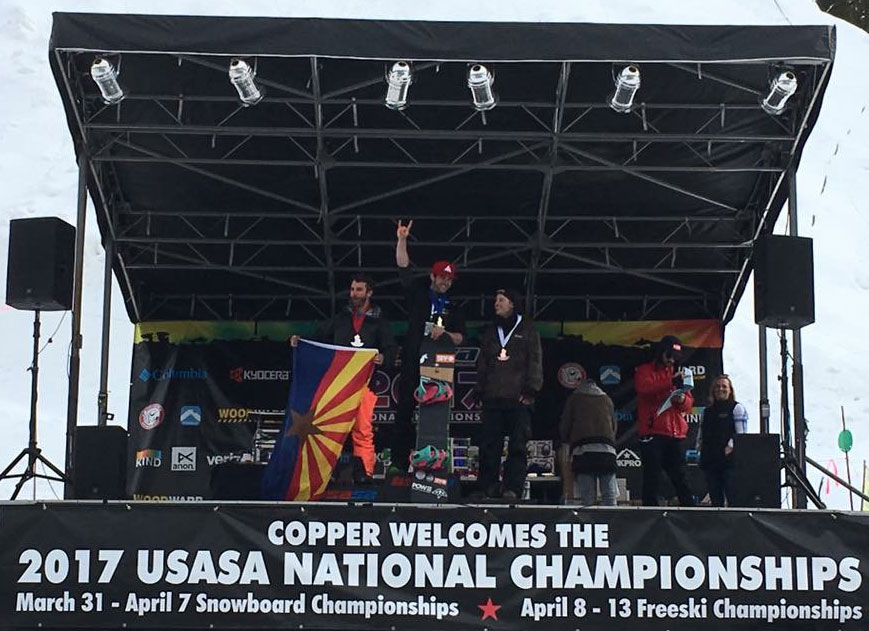 Kyle Orsburn 2017 SBX National Champion sponsored by RaceWax